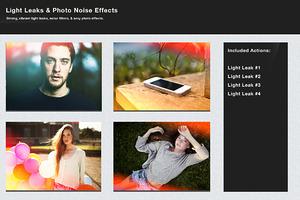 Light Leaks & Photo Noise Effects