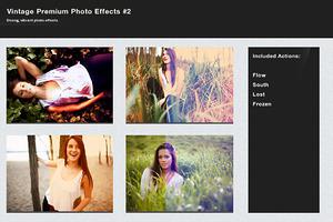 Vintage Premium Photo Effects #2
