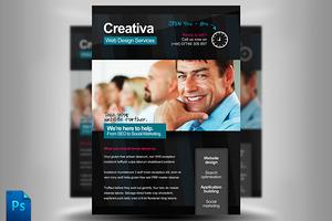 Creativa Web Designer Flyer Template