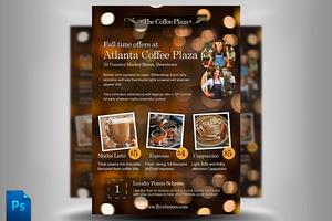 Cafe Menu / Flyer Template