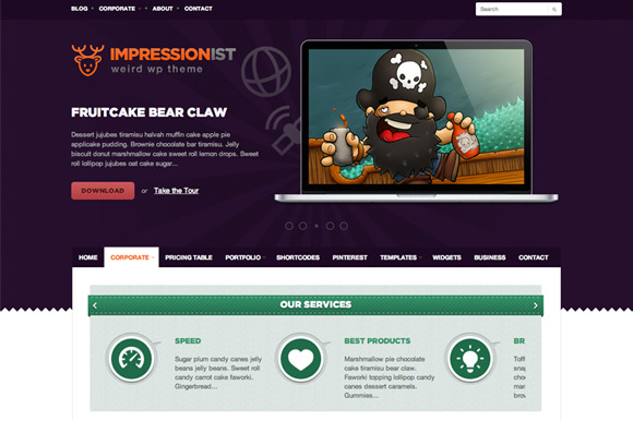 Impressionist ~ WordPress Themes  Free Download