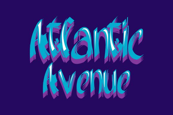 Atlantic Avenue Font