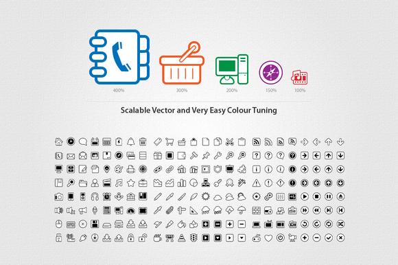 Super Mono Vector Icons