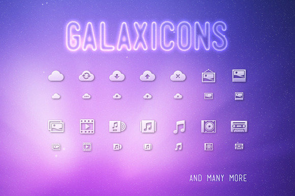 Galaxicons