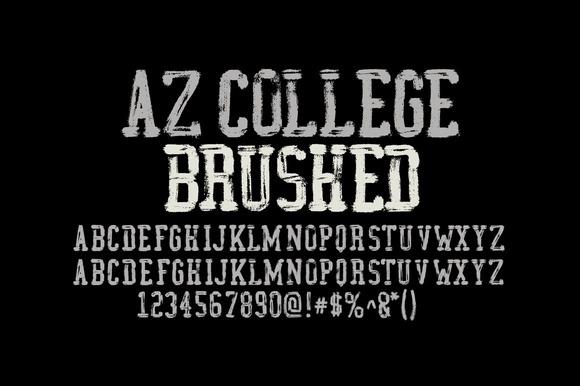 AZ College Brushed