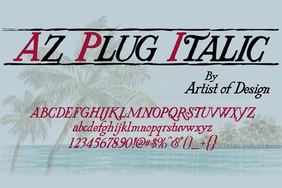 AZ Plug Italic