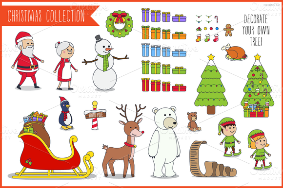 Characters Christmas Collection