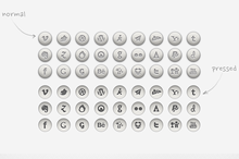 Rounded Social Icons | PSD, PNG...