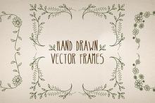 Hand Made Vector Frames Pack 3