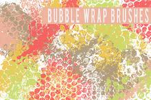 Bubble Wrap Brushes