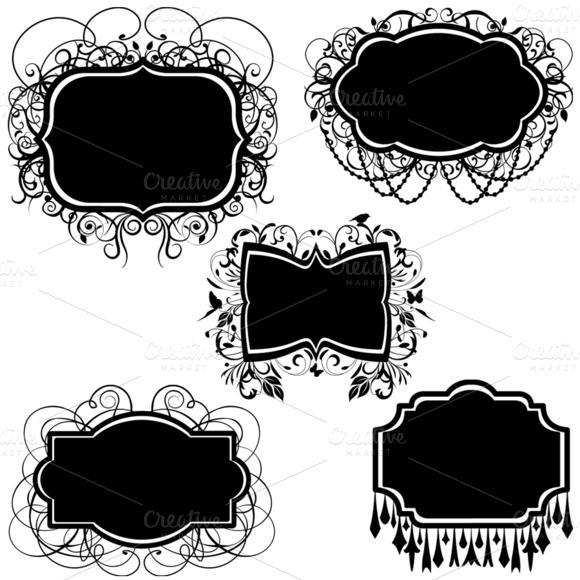 Elegant Frames Vectors And Clipart
