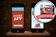 Retro App UI Kit