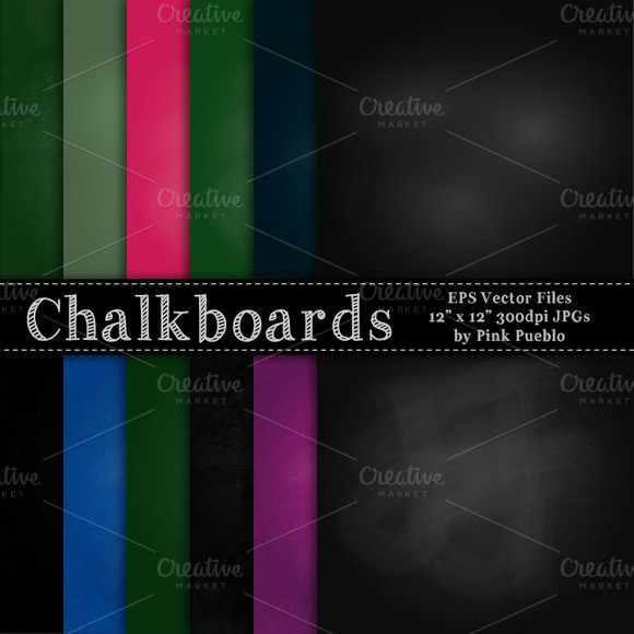 Chalkboard Vectors And Clipart