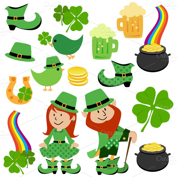 St Patrick S Day Vectors And Clipart