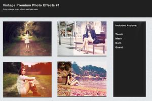 Vintage Premium Photo Effects Bundle