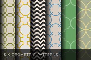 Tileable geometric patterns