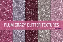Plum Crazy Glitter Texture Pack