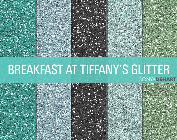 Breakfast At Tiffany S Glitter