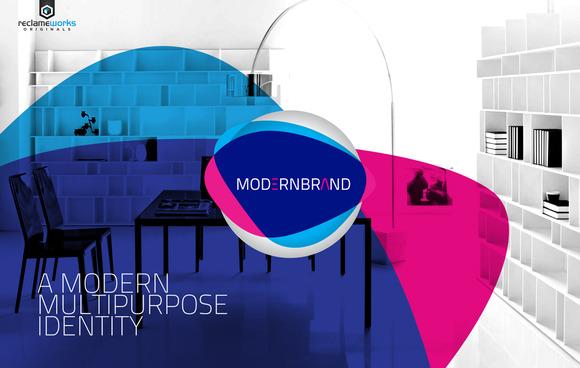 RW Modern Corporate Identity Logo