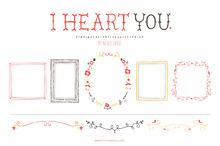 I Heart You (Clipart)