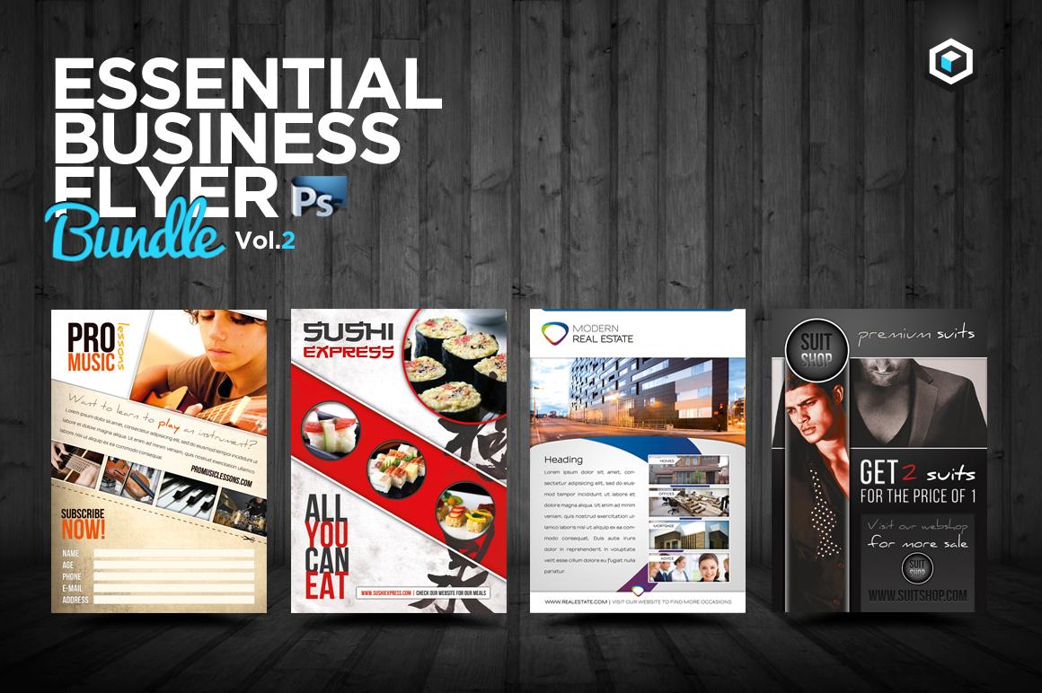 rw essential business flyers vol 2