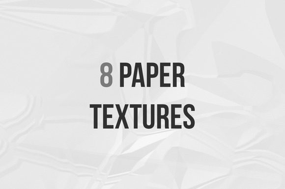 8 Hi-Res Paper Textures