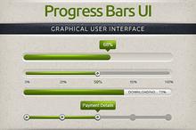 Subtle Progress & Download Bars