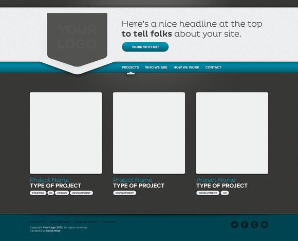 Premium One-Page Website