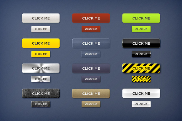 Call To Action Buttons Styles 1