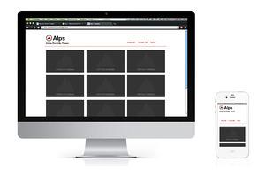 Alps - Responsive HTML Template