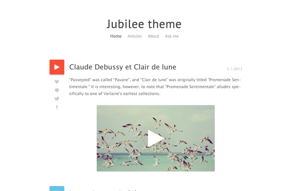 Jubilee Theme Tumblr Blog