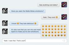 Matte Motes - Emoticon Set
