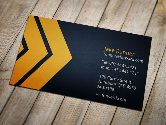 Moving Forward Business Card