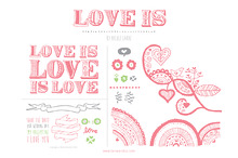 Love Is Love (Clipart)