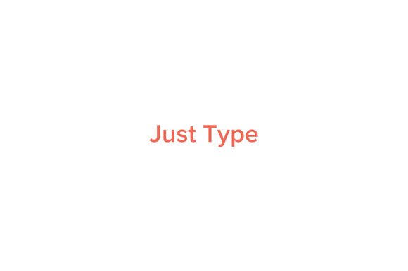 Just Type Tumblr Theme