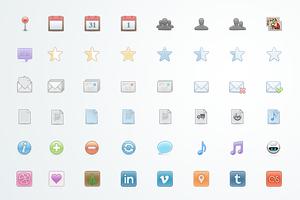 Srin - 105 Web Icons PSD