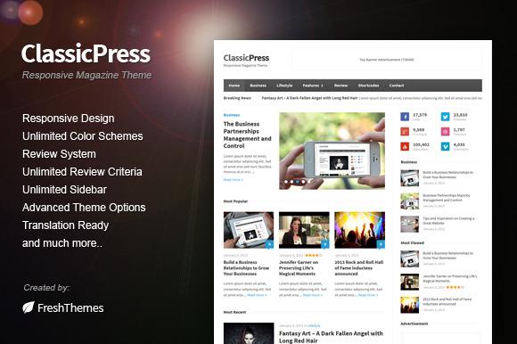ClassicPress Responsive Theme