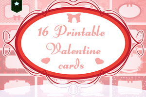 Cute printable valentine cards
