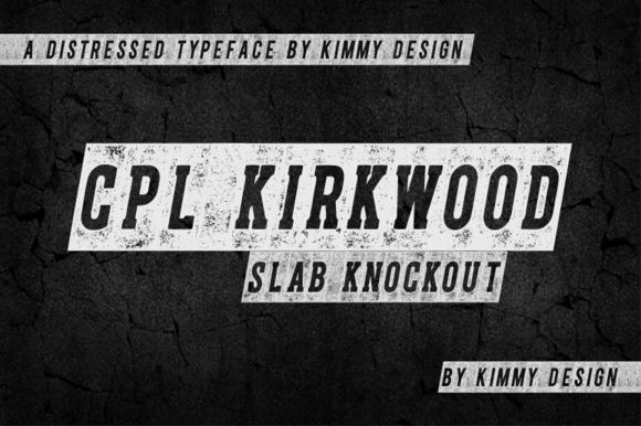 CPL KIRKWOOD SLAB KNOCKOUT