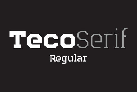 Teco Serif Regular