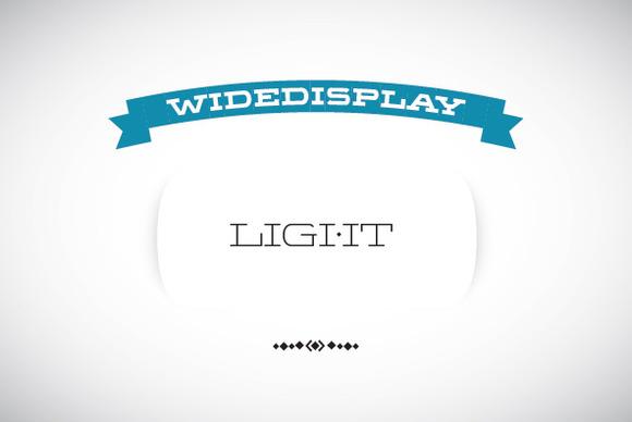 WideDisplay Light