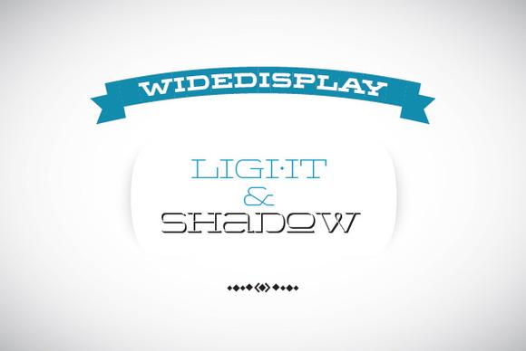 WideDisplay Light Shadow