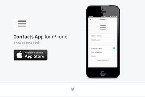 App Website Template -HTML/CSS/PSD