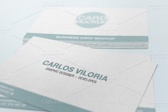 Business Card Mockup 04