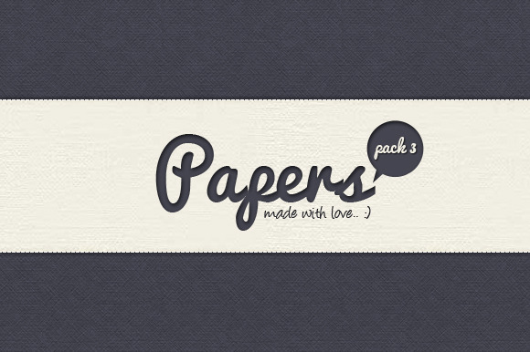 Papers Pack 3