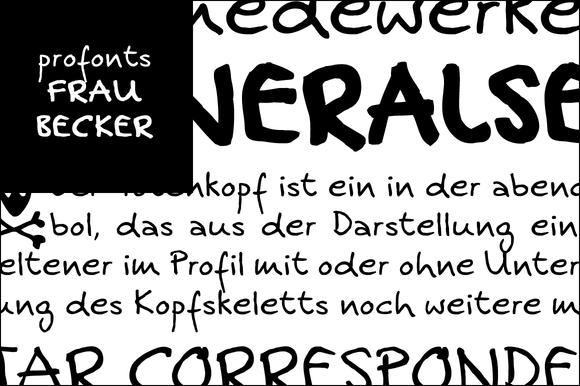 Frau Becker Volume With 3 Styles