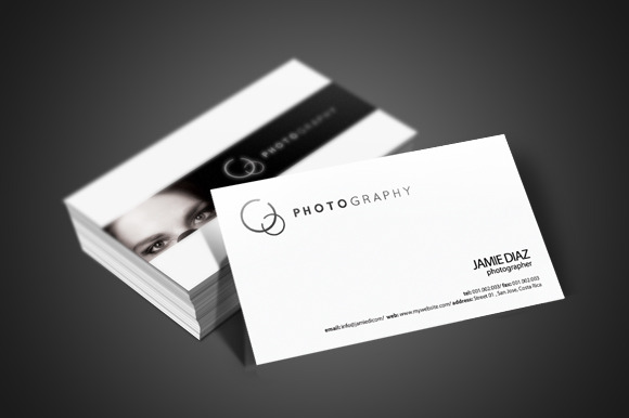 Business Cards Photography Templates Image Collections Card - Photography business cards templates