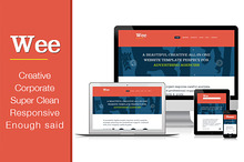 Responsive Business Template: Wee