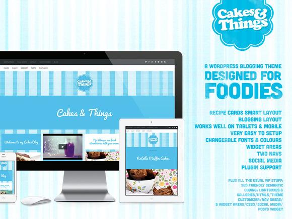 Cakes Things Foodie Wordpress Blog