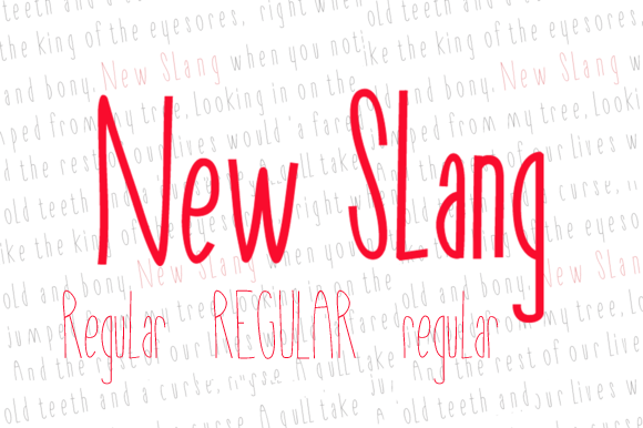 New Slang Regular